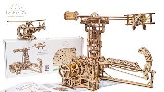 Ugears Aviator Model Kit Assembly Video