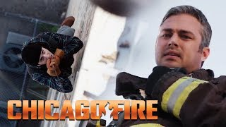 Severide Takes A Big Risk To Save A Life  | Chicago Fire