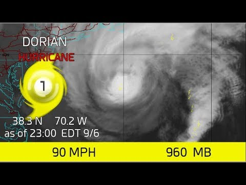 Dorian Making one last Charge at Atlantic Canada September 6, 2019 23:00