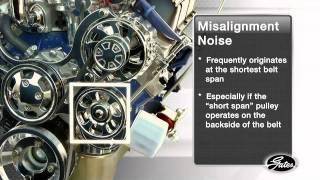 GATES: Diagnosing Belt Noise - The Spray Bottle Test