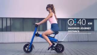 ONEBOT T8 electric folding bike (official 02)
