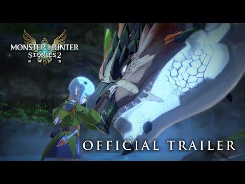 《魔物獵人物語 2 破滅之翼》故事宣傳片公開