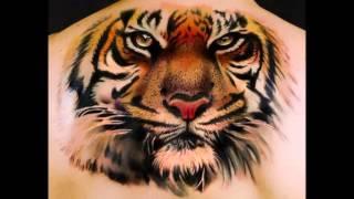 татуировки тигра