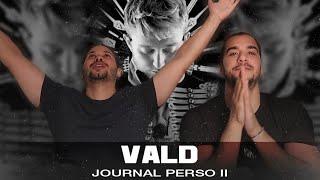 PREMIÈRE ÉCOUTE   VALD   JOURNAL PERSO II