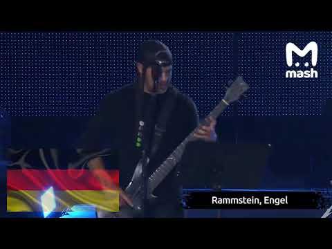 Metallica исполняет хиты стран