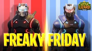 FREAKY FRIDAY - CARBIDE AND OMEGA SWAP BODIES- FORTNITE SHORT