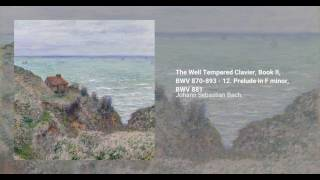 The Well Tempered Clavier, Book II, BWV 870-893