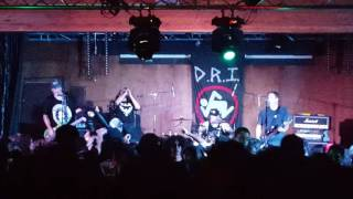 """D.R.I. """"All For Nothing/Manifest Destiny/I Don't Need Society"""" @ Union Club 10/26/16"""