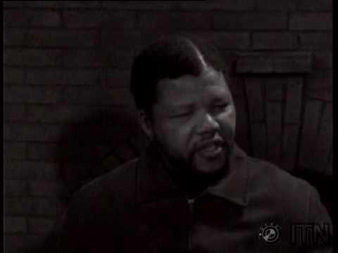 Primul interviu dat de Nelson Mandela