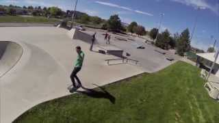 Broomfield Skatepark - GoPro Quadcop | Danny Flanagan