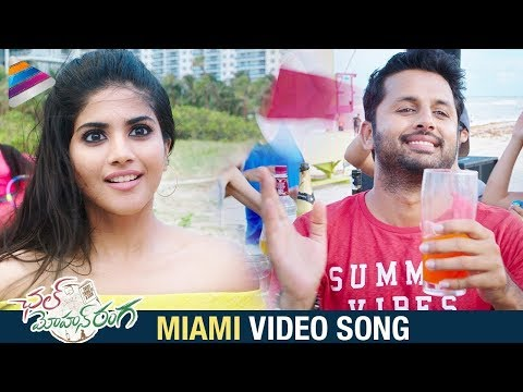 miami video song chal mohan ranga movie songs nithiin megha