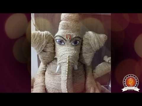 Shivani Majmudar Home Ganpati Decoration Video