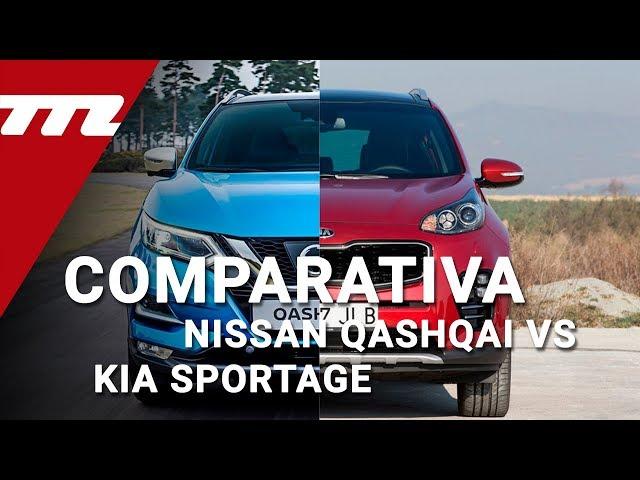 Nissan Qashqai vs Kia Sportage: ¿cuál es mejor para comprar?