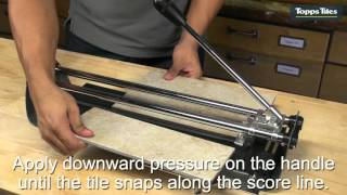 Topps Tiles Manual Tile Cutters 400mm & 600mm