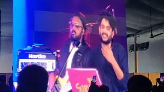 Sid Sriram,Kebha Inkem Inkem 8 Minutes Live Performance @ YMCA,Chennai