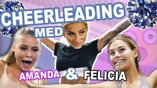 TESTAR CHEERLEADING MED AMANDA STRAND OCH FELICIA AVEKLEW!! - REPS AND Q´S AVSNITT 4