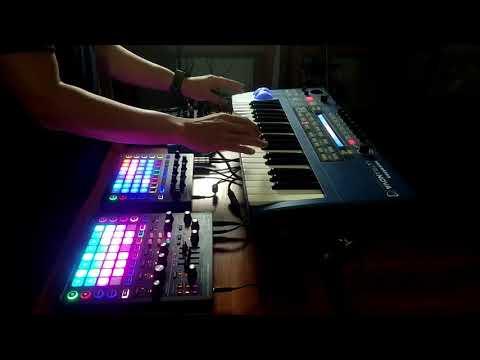 "Synth jam #8 ""Tiga"" | Novation Circuit | Mono Station | Ultranova Jam"