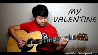 (WITH TAB) Martina McBride - My Valentine | INSTRUMENTAL | KARAOKE ACOUSTIC
