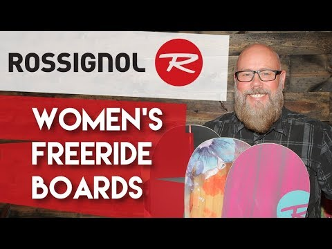 2018 Rossignol Woman's Freeride Snowboards – Review – TheHouse.com