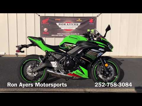 2020 Kawasaki Ninja 650 ABS KRT Edition in Greenville, North Carolina - Video 1