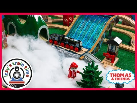 Thomas and Friends Snowy Track! Fun Toy Trains for Kids