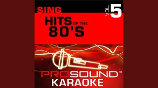 Steppin Out (Karaoke Instrumental Track) (In the Style of Joe Jackson)