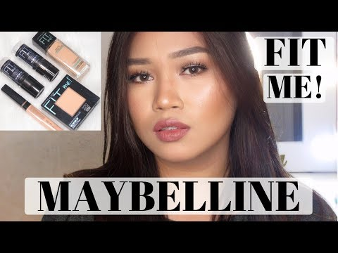 GLOWY MAKEUP (Roxette Arisa Inspired) ft. Maybelline FIT ME!