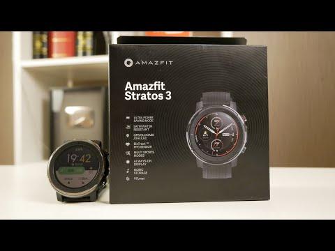 Amazfit Stratos 3. Часы с отличной автономностью / Арстайл /
