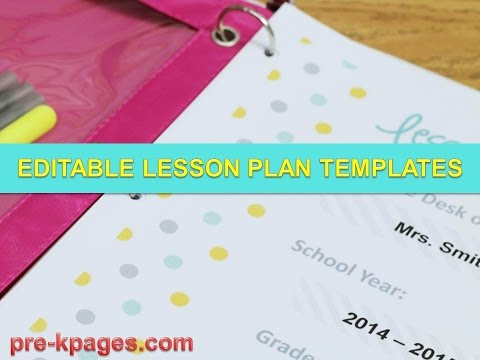 Weekly Lesson Plan Template - Lesson Plan Template