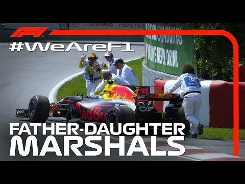 Image: WATCH: Father and Daughter Marshals