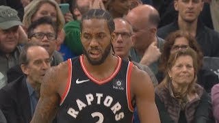 Kawhi Leonard Shows Rare Emotion After Showing Kyrie Irving He Can't Be Guarded! Celtics vs Raptors