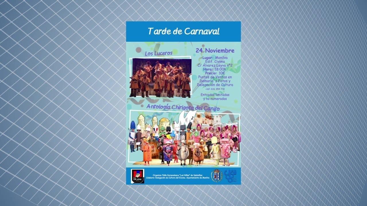 TARDE DE CARNAVAL EN EL CIVIMA