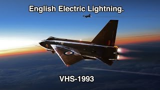 English Electric Lightning complete.