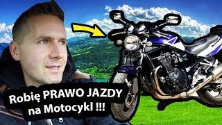 Jak Zrobić Prawo Jazdy na Motocykl ??? - Moje Pierwsze KROKI (Vlog #261)