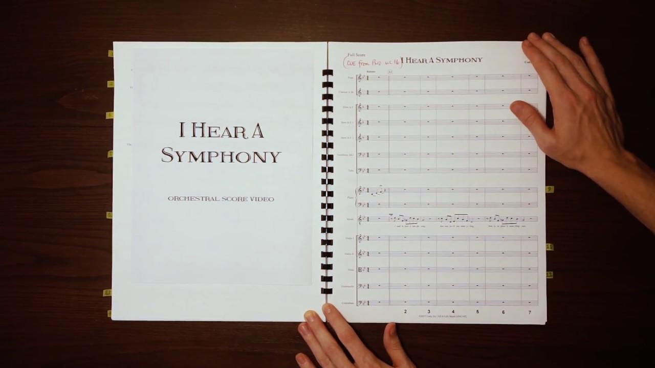 Lirik Lagu I Hear a Symphony - Cody Fry dan Terjemahan