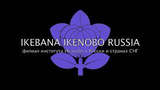 Ikebana Ikenobo Russia -Nihon No Bi Exhibition 2017