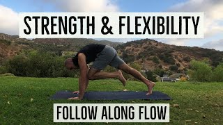 25min Strength & Flexibility Follow Along Video with Antranik