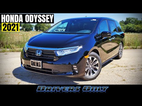 2021 Honda Odyssey - Refreshed with New Looks and More Features