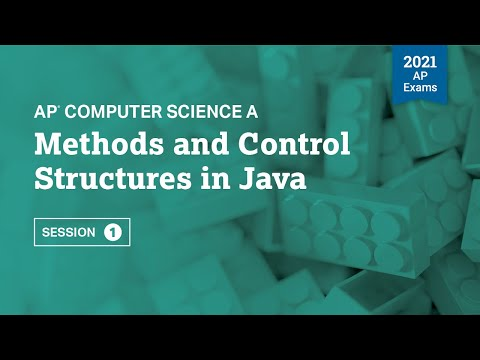 Methods and Control Structures in Java | AP Computer Science A