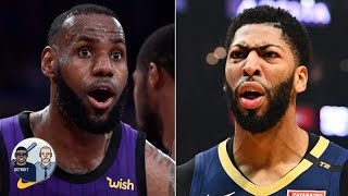 Nobody picked the Lakers to win the title among ESPN's panel of experts | Jalen & Jacoby