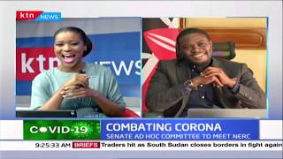 Senator Sakaja talks about viral rap video he did with his sons