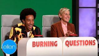 Ludacris Answers Ellen's 'Burning Questions'