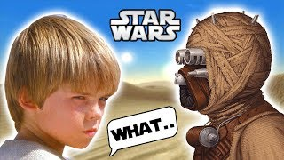 What Little ANAKIN Did with an INJURED Tusken Raider No One Knew About! - Star Wars Explained
