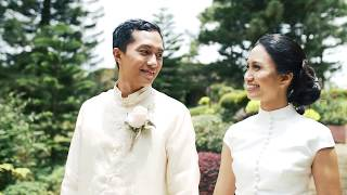 { Cliff + Bea } A Wedding at Caleruega Church | Batangas Photography and Videography Package w/ SDE