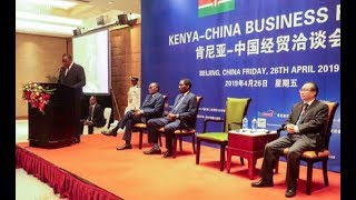 Kenya inks $2.23 billion projects deal with China - VIDEO