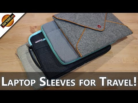Laptop Sleeves for Back To School & Travel! - TekThing Short