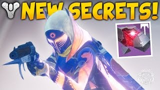 Destiny: RISE OF IRON SECRETS! Dormant Siva Cluster, Splicer Key & Laser Door (Plaguelands Gameplay)