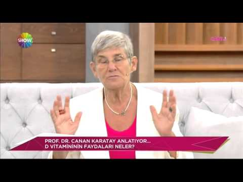 Prof. Dr. Canan Karatay D vitaminin faydalarını anlatıyor