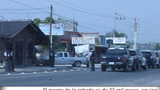 preview picture of video 'Tiroteo en carretera León-Silao'