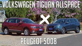 Comparativo: Peugeot 5008 x Tiguan Allspace